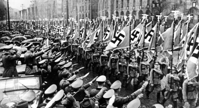 what was the nazis ideology in Nazism, also spelled naziism, in full national socialism, german nationalsozialismus, totalitarian movement led by adolf hitler as head of the nazi party in germany in its intense nationalism, mass appeal, and dictatorial rule, nazism shared many elements with italian fascism however, nazism was far more extreme both.
